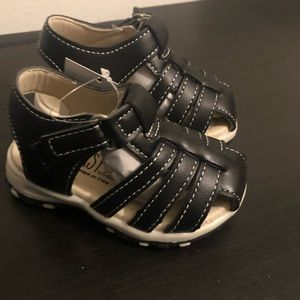 Black Boys Sandals Sizes 4 & 8